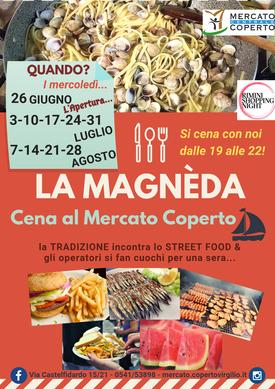 La Magnèda - Cena al Mercato Coperto